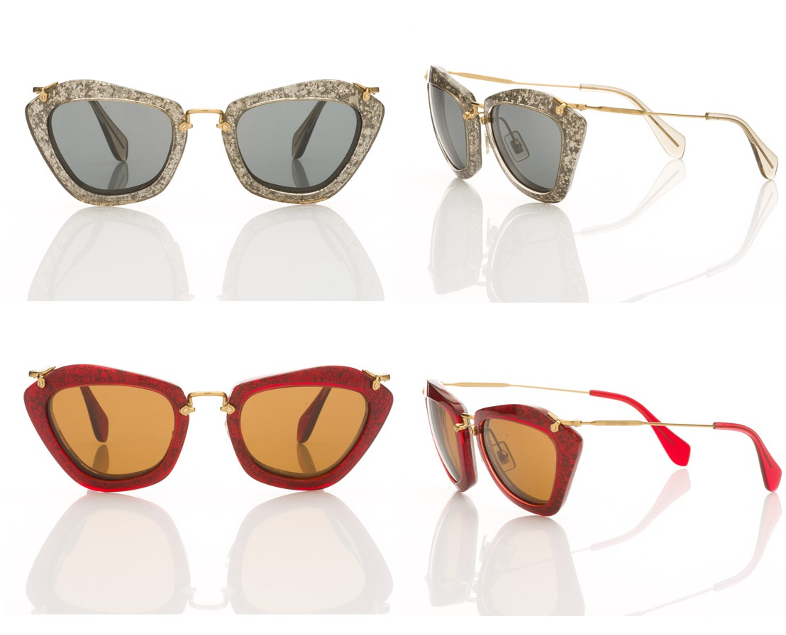 Hailee maravilhosa como sempre, estrela também a coleção de óculos de sol  da Miu Miu a Noir. 0b9de6bbf7